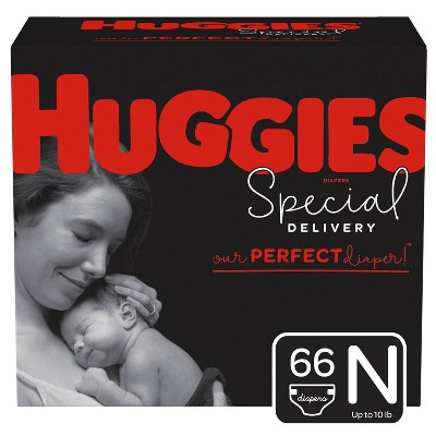 Huggies Special Delivery Diapers Super Pack - Size Newborn (66ct)