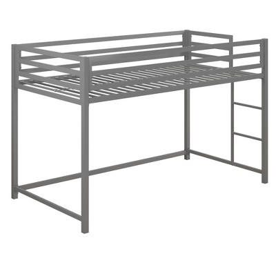 Max Metal Junior Loft Bed Silver - Room & Joy