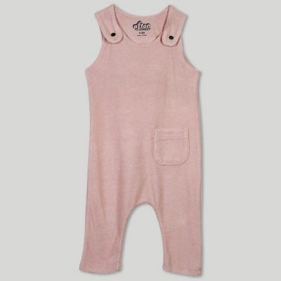 Afton Street Baby Girls' Overalls - Pink 0-3M
