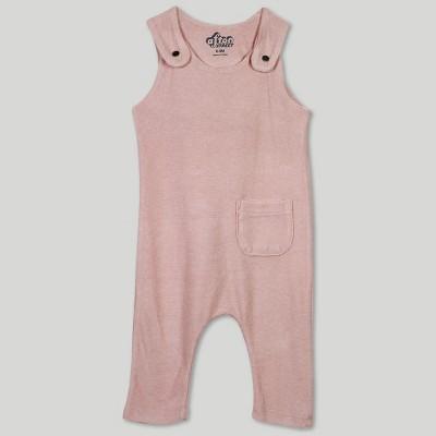 Afton Street Baby Girls' Overalls - Pink 3-6M