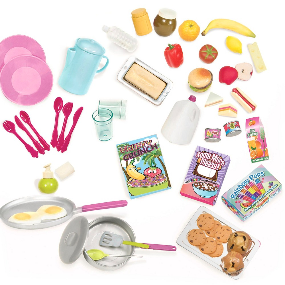 Our Generation Camping Accessory For 18 34 Dolls With Play Food Rv Seeing You Camper
