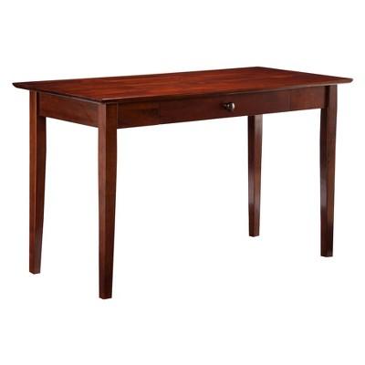 Shaker Wood Writing Desk with Drawers - Atlantic Furniture