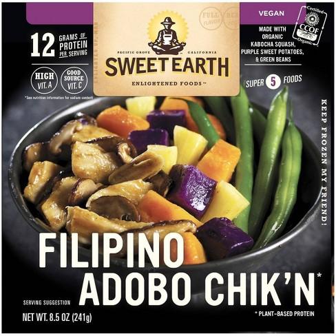 Sweet Earth Filipino Adobo Chik'n - 8.5oz - image 1 of 4