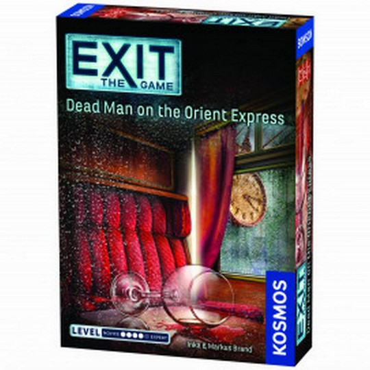 Thames & Kosmos Exit Games: Dead Man Orient Express image number null