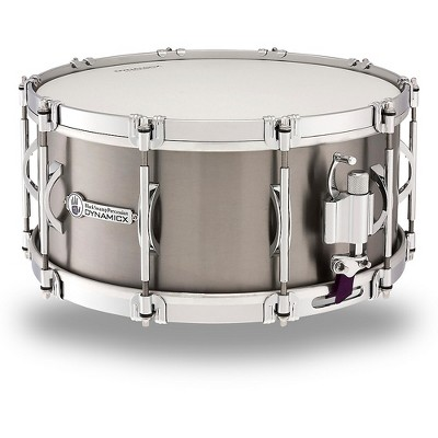 Black Swamp Percussion Dynamicx Sterling Series Titanium Snare Drum 14 x 6.5 in.