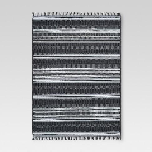 9 X 12 Global Stripe Outdoor Rug