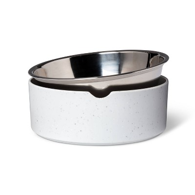 Speckle Melamine Dog Bowl - Gray - 13oz - Boots & Barkley™