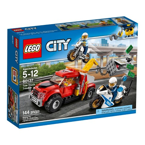 Lego City Police Tow Truck Trouble 60137 Target
