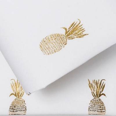 Gold Foil Pineapple