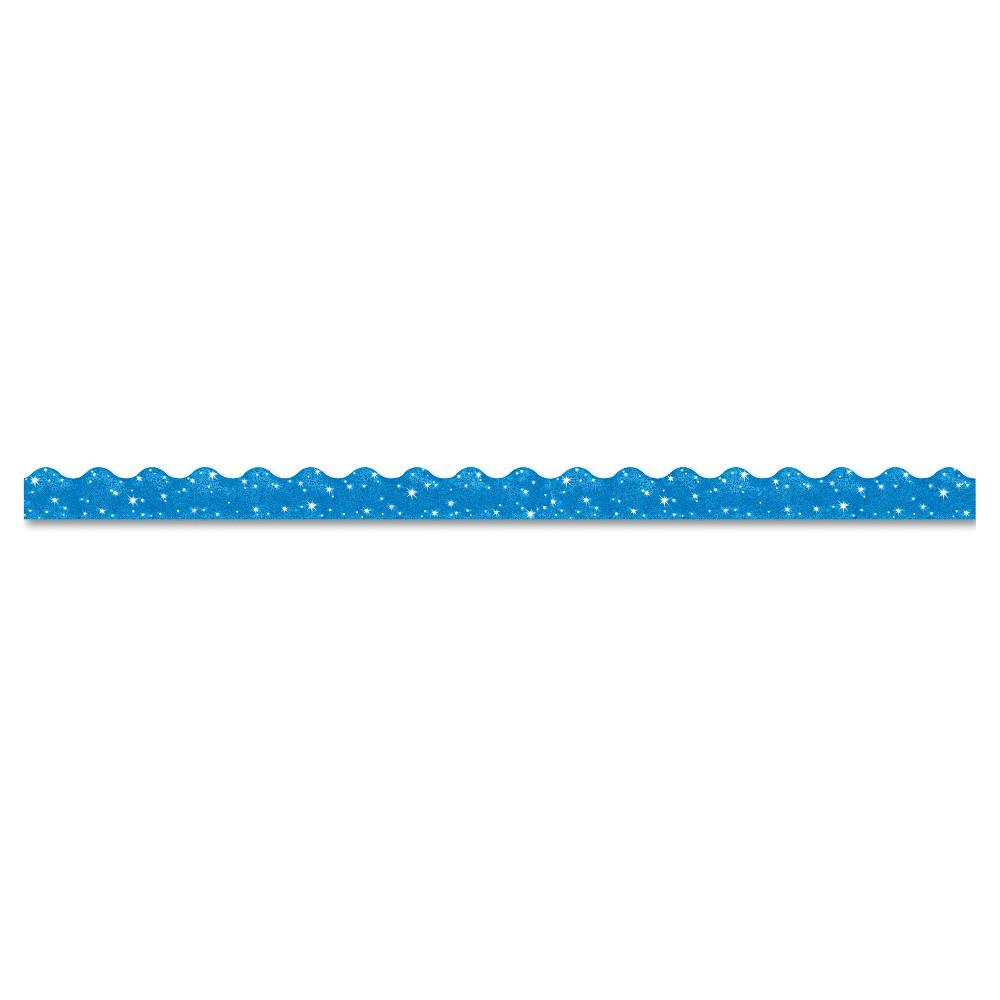 """Image of """"TREND Terrific Trimmers Sparkle Border, 2 1/4"""""""" x 39"""""""" Panels, Blue, 10/Set"""""""