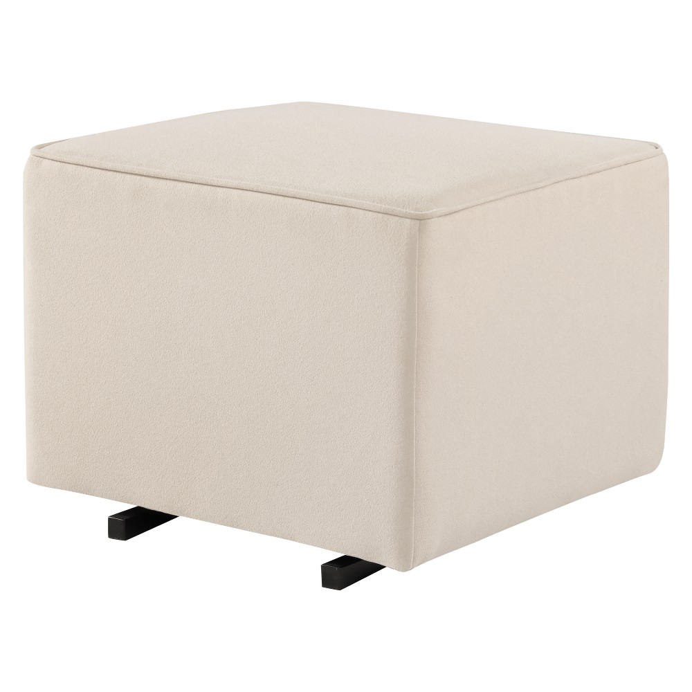Image of Kid's Glider And Ottoman Set DaVinci - Cream, Ivory