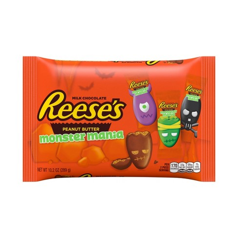 Reese's Peanut Butter Cup Halloween Monsters Mania Snack Size - 10.2oz - image 1 of 5
