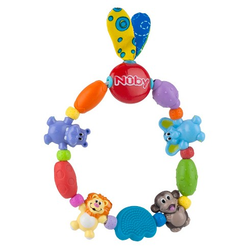 Nuby Safari Friends Baby Teether - image 1 of 1