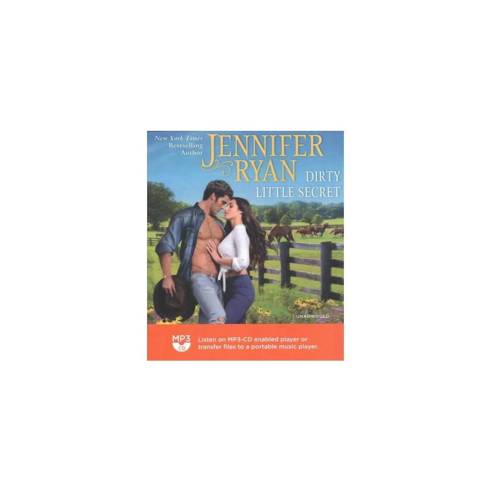 Dirty Little Secret - MP3 Una (Wild Rose Ranch) by Jennifer Ryan (MP3-CD)
