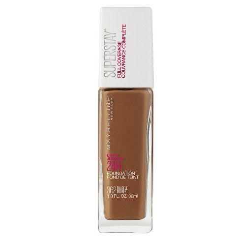 Maybelline Superstay Full Coverage Foundation - Deep/Tan Shades - 1 fl oz - image 1 of 4
