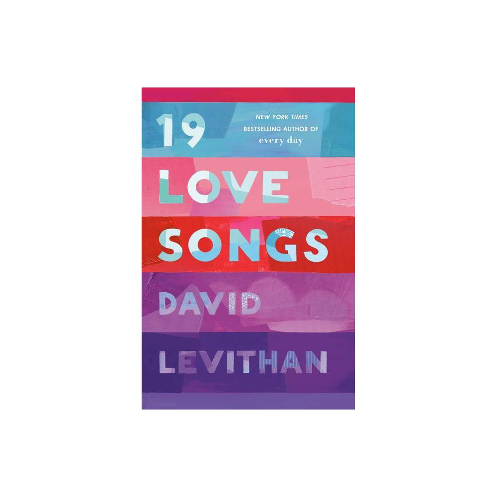 19 Love Songs By David Levithan Hardcover