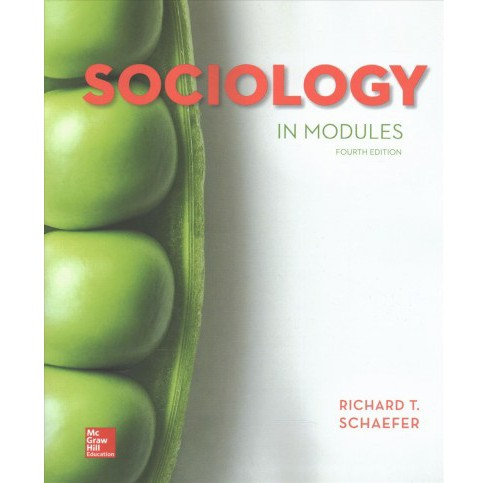 Sociology in Modules (Hardcover) (Richard T. Schaefer) - image 1 of 1