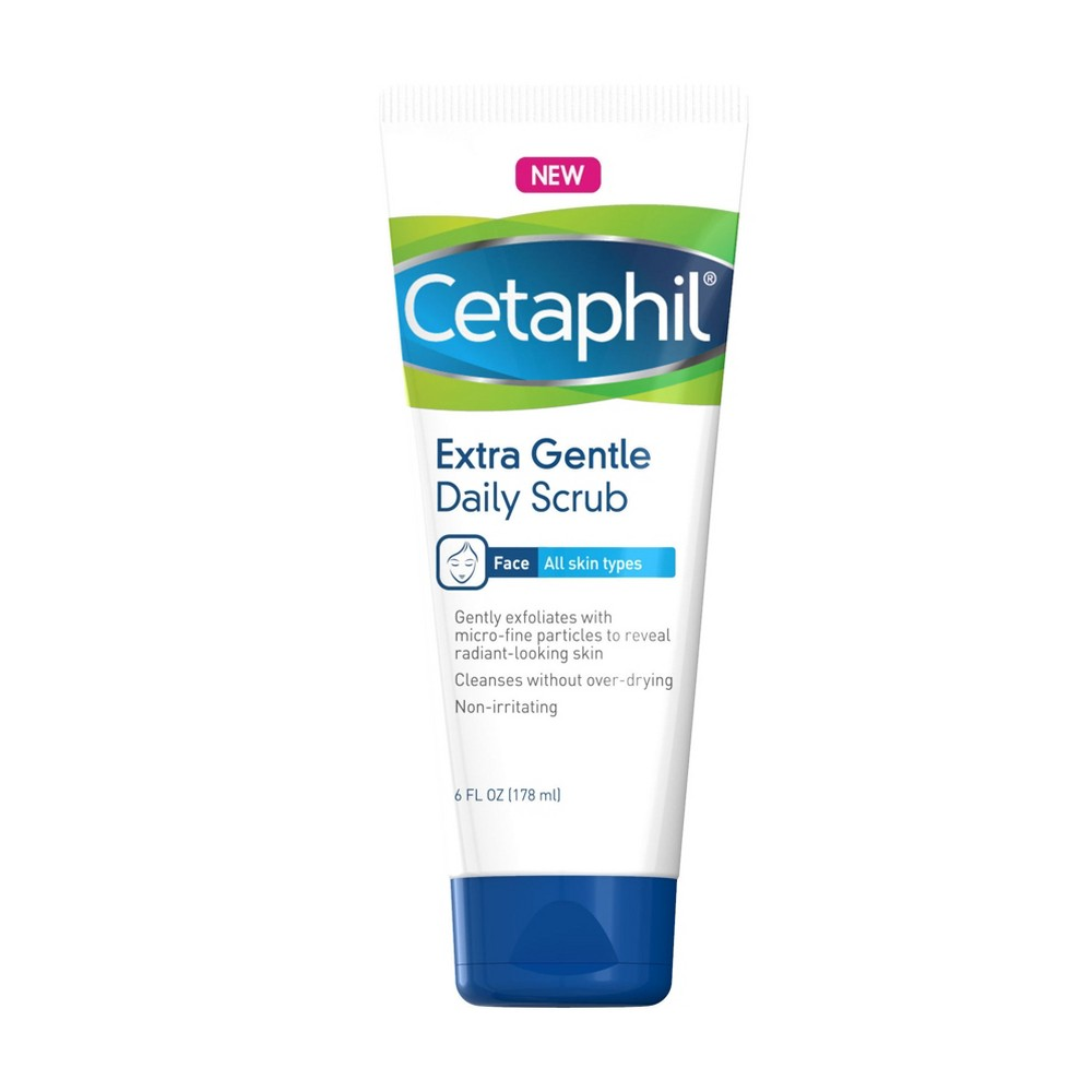 Image of Cetaphil Gentle Exfoliating Facial Cleanser - 6oz