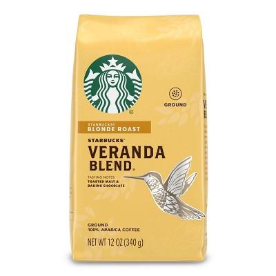 Starbucks Veranda Blend Blonde Light Roast Ground Coffee - 12oz