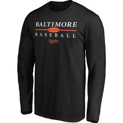 MLB Baltimore Orioles Men's Long Sleeve Core T-Shirt
