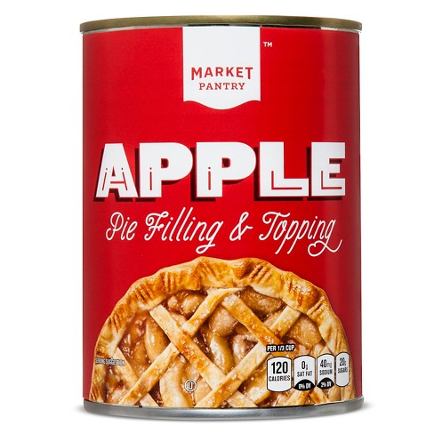 Apple Pie Filling and Topping - 21oz - Market Pantry™ - image 1 of 1