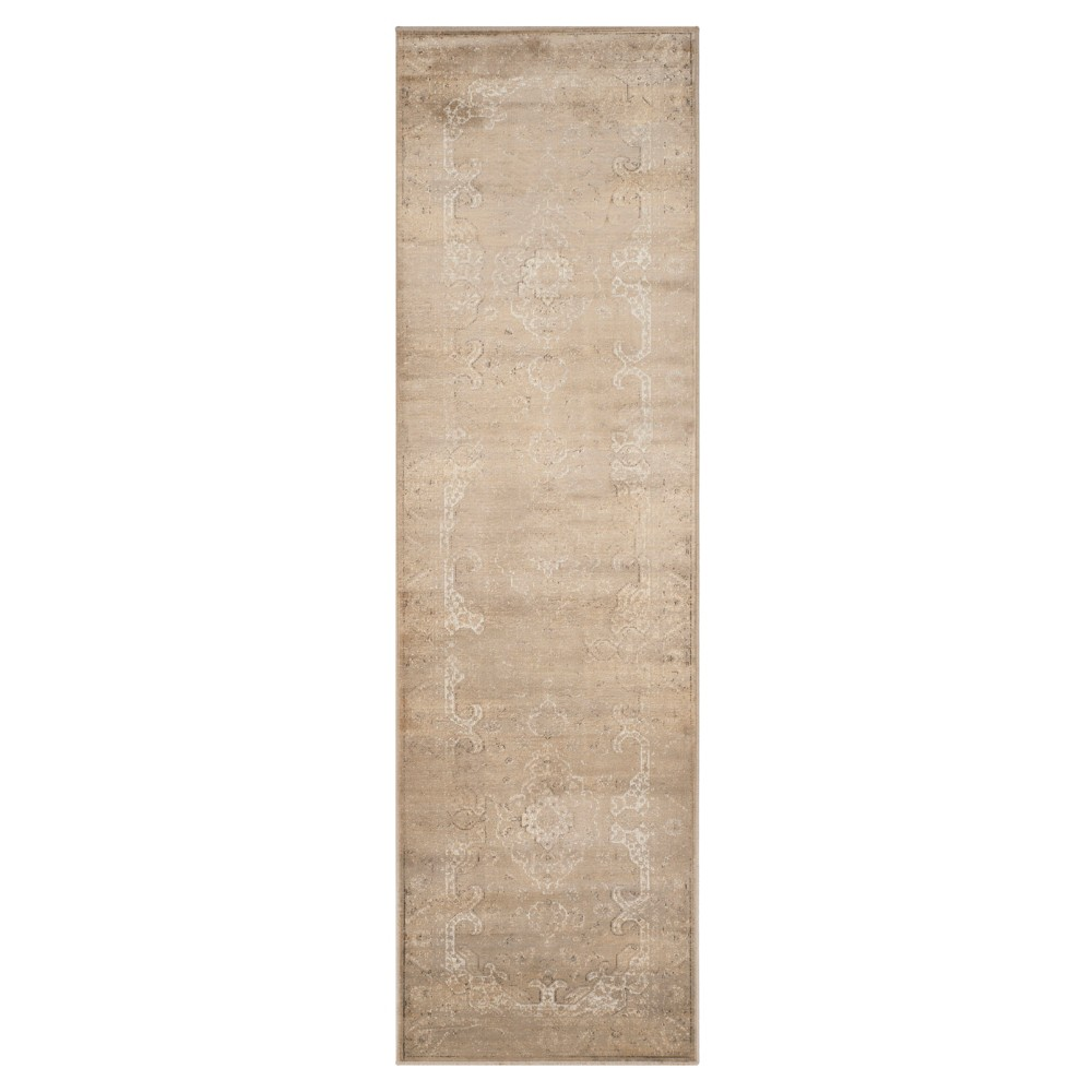Alessandra Vintage Runner - Stone (Grey) ( 2' 2 X 8' ) - Safavieh