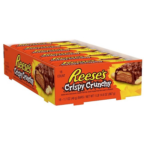 Reese's Crispy Crunchy Candy Bars - 14.6oz/18ct - image 1 of 6
