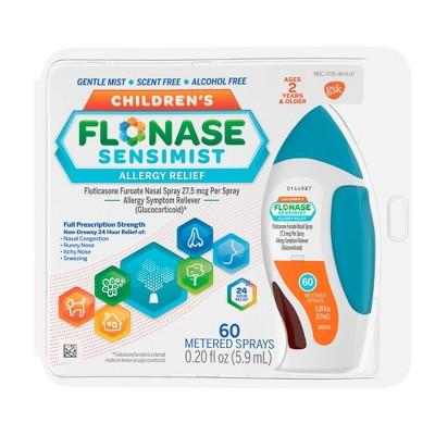 Children's Flonase Sensimist Allergy Relief Nasal Spray - Fluticasone Furoate - 0.2 fl oz