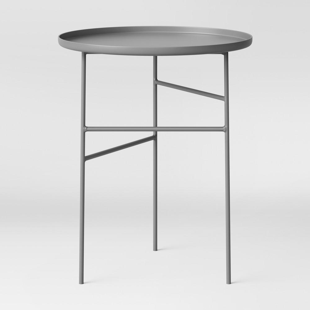 Fabulous Elgin Accent Table Gray Project 62 Machost Co Dining Chair Design Ideas Machostcouk