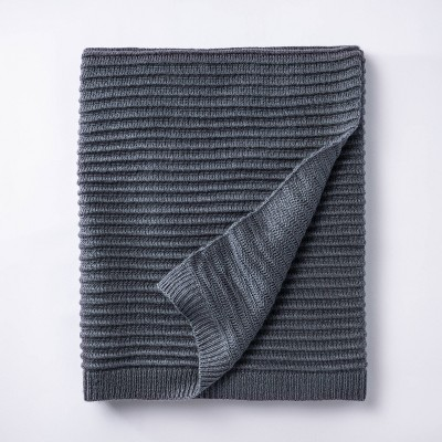 Rib Knit Throw Blanket - Threshold™ designed with Studio McGee