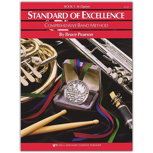 KJOS Standard Of Excellence Book 1 Clarinet - image 1 of 1