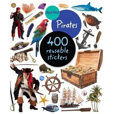 Eyelike Stickers: Pirates - (Paperback) - image 1 of 1