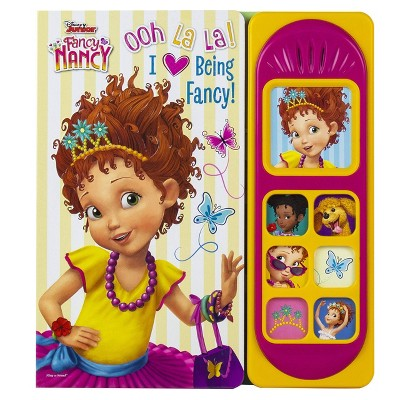 Disney Fancy Nancy - Ooh La La! I Love Being Fancy! Little Sound Book - by Kathy Broderick (Board Book)