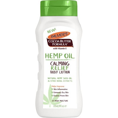 Palmer's Cocoa Butter Formula Calming Relief Body Lotion with Hemp Oil - 8 fl oz
