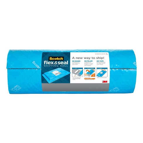 Scotch 10' Flex & Seal Shipping Roll - Light Blue - image 1 of 4