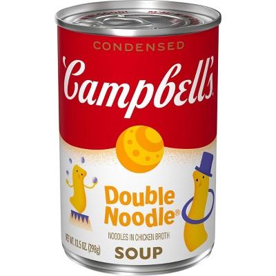 Campbell's Condensed Double Noodle Soup - 10.5oz