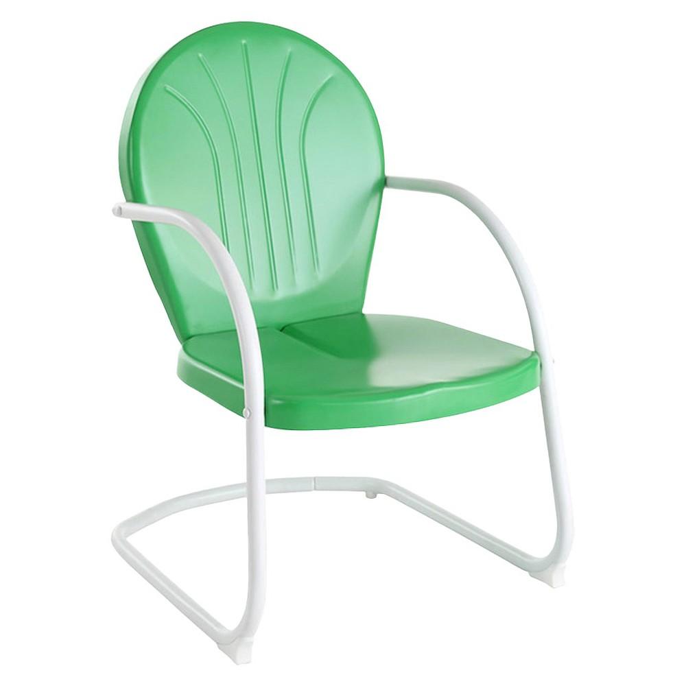 Promos Metal Patio Arm Chair - Green