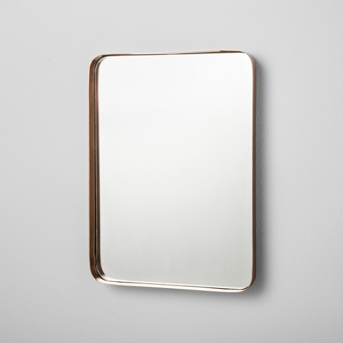 "Rectangle Mirrored Copper Tray (16"") - Hearth & Hand™ with Magnolia - image 1 of 2"