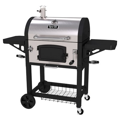 Dyna-Glo Heavy Duty Stainless Steel Charcoal Grill Model DGN486SNC-D