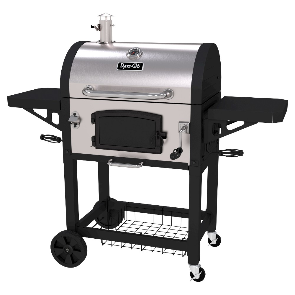 Dyna-Glo Heavy Duty Stainless Steel (Silver) Charcoal Grill 50026245