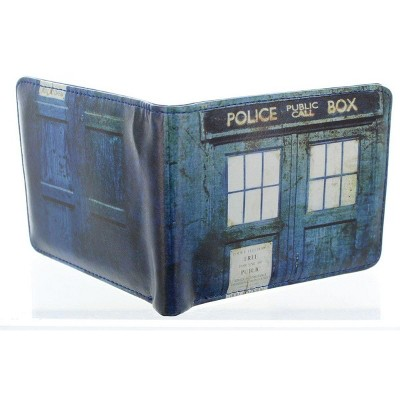 Seven20 Doctor Who Distressed TARDIS Bi-Fold Wallet