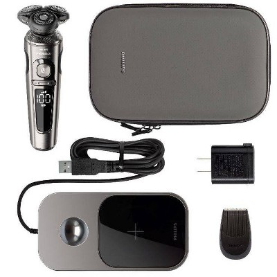 Philips Norelco Series 9860 Wet & Dry Men's Rechargeable Electric Shaver with Qi - SP9860/86