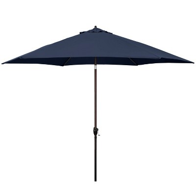 "11"" Aluminum Market Polyester Umbrella with Crank Lift - Astella"