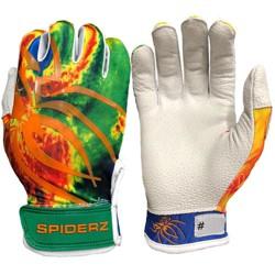 Spiderz Pro Adult Limited Edition Baseball/Softball Batting Gloves
