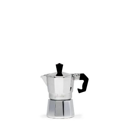 Primula 1-Cup Espresso Maker - Silver