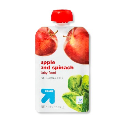 Stage 2 Apple & Spinach Baby Meals - 3.5oz - up & up™