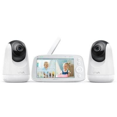 """VAVA Split View 5"""" 720P Video Baby Monitor with 2 Cameras"""