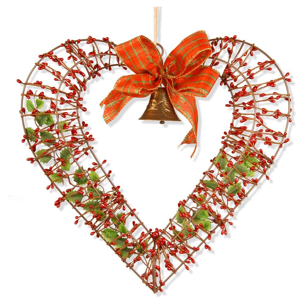 16 Valentine Heart Decor - National Tree Company, Red