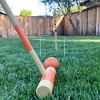 GoSports Standard Size Backyard Outdoor Lawn Kid and Adult Croquet Game Set for 6 Players with 35 Inch Mallet Handles & Portable Travel Carry Case - image 4 of 4