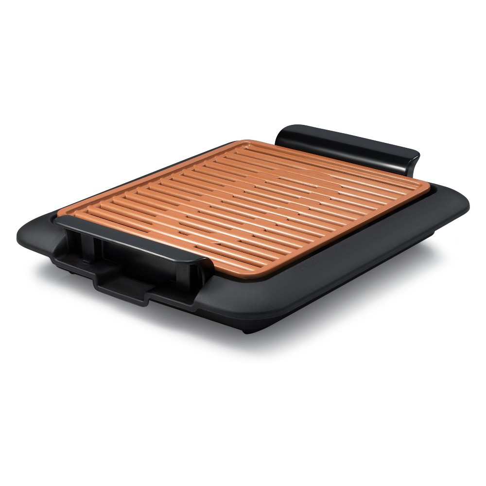 As Seen on TV Gotham Steel Smokeless Grill, Orange 53212477